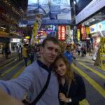 Selfie w Hong Kongu... ;)
