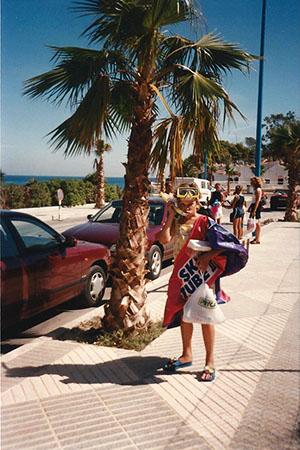 Hiszpania. Mój pierwszy zagraniczny wyjazd - 1999 rok.