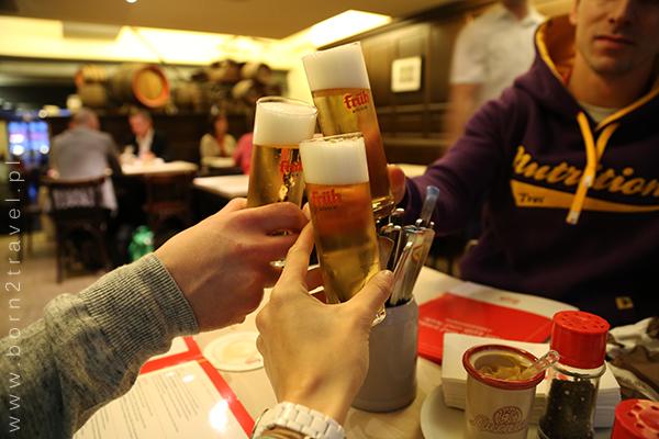 Polsko-niemiecko-kanadyjski toast. Na zdrowie!