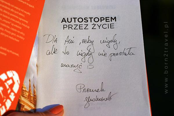 Przepiękna dedykacja na zdobycznej książce! :)