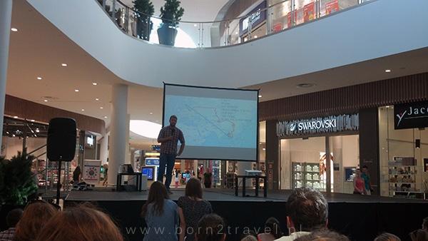 Przemek Skokowski - prelekcja w Centrum Riviera w Gdyni.