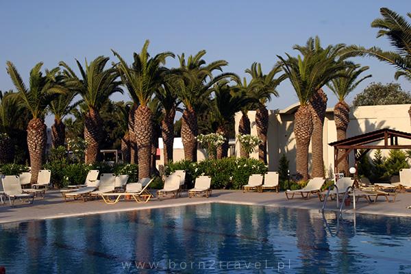 Basen w naszym hotelu Kipriotis Hippocrates