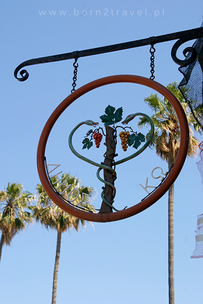 Symbol medycyny w mieście Kos.