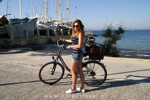 Przystanek na zdjęcia tuż przy marinie w Kos. ;)