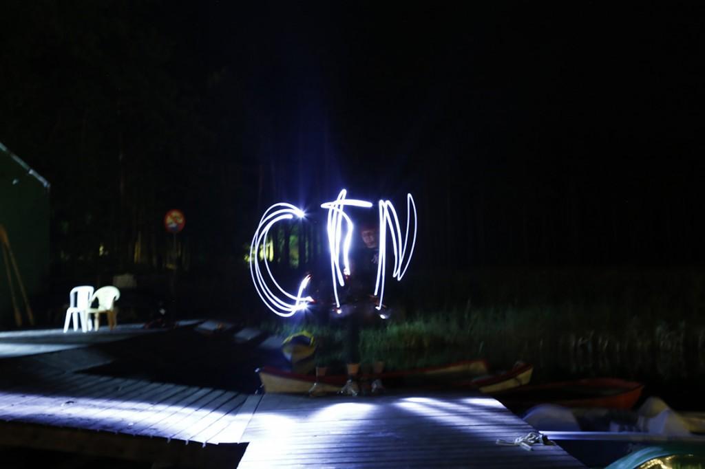 Pisane światłem: CTN, czyli Centrum Techniki Nurkowej w wykonaniu Arka :)