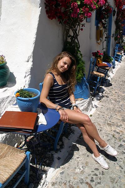 Fish House to ideale miejsce do zdjęć ;) Czuć tutaj prawdziwy grecki klimat.