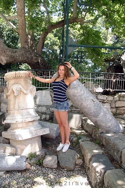Zdjęcie z greckimi zabytkami - obowiązkowe!