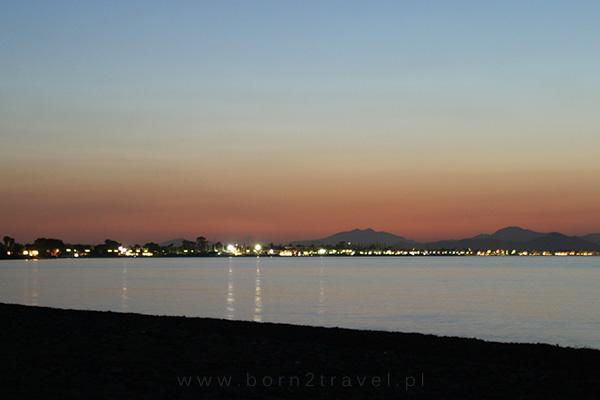 Nocne światła miasta Kos. Jeszcze tu wrócimy!