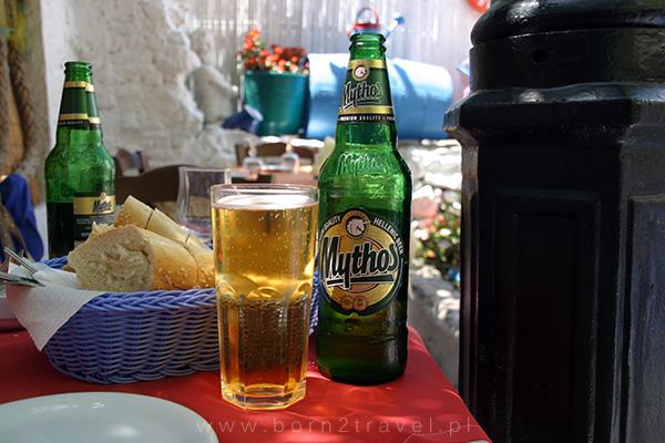 Skoro jesteśmy w Grecji, to i greckiego piwa trzeba spróbować.
