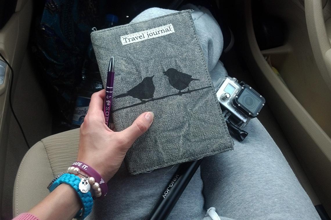 Kolejny dziennik podróży do kolekcji. W końcu mianowanie się blogerką podróżniczą zobowiązuje... ;)