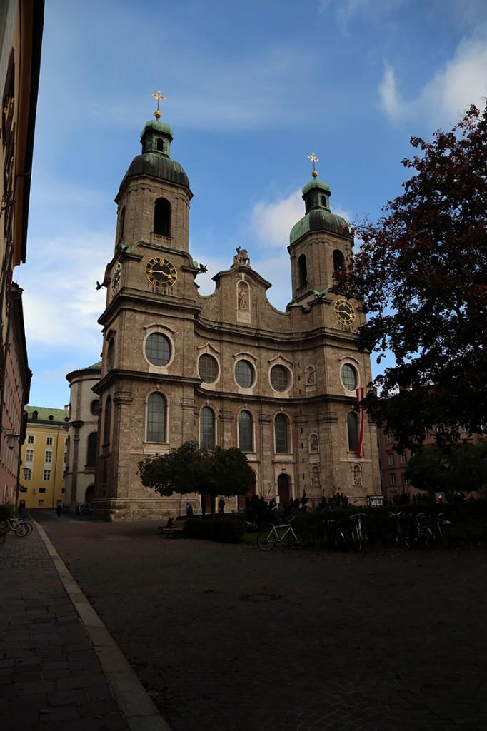 Dom St. Jakob, czyli Katedra Św. Jakuba.