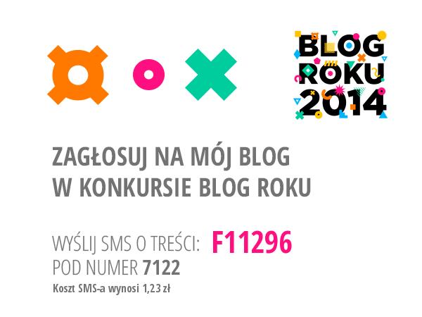 Nasz blog bierze udział w konkursie Blog Roku 2014!