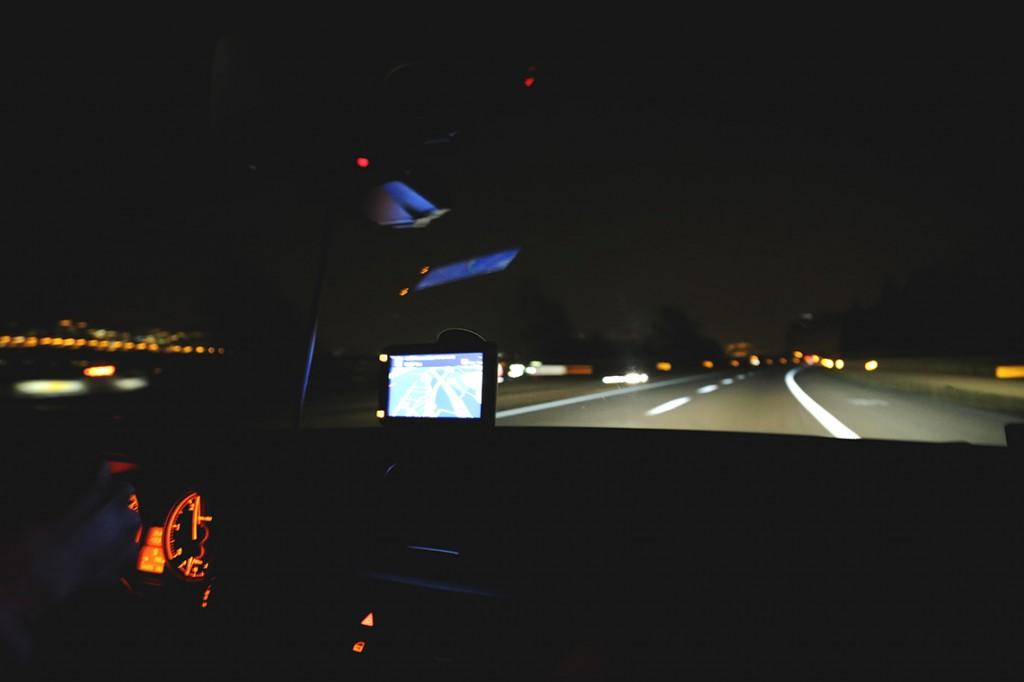 W drodze, trasa Innsbruck - Reggio Emilia.