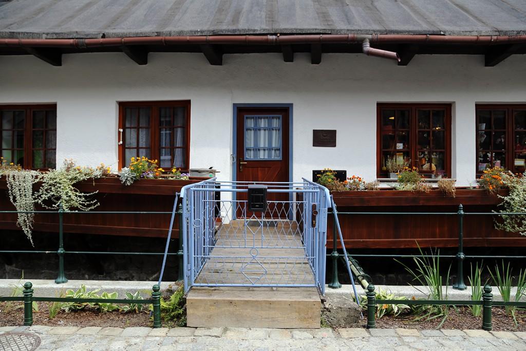 Cieszyńska Wenecja. Jeden z licznych Zabytków Architektury Polskiej.