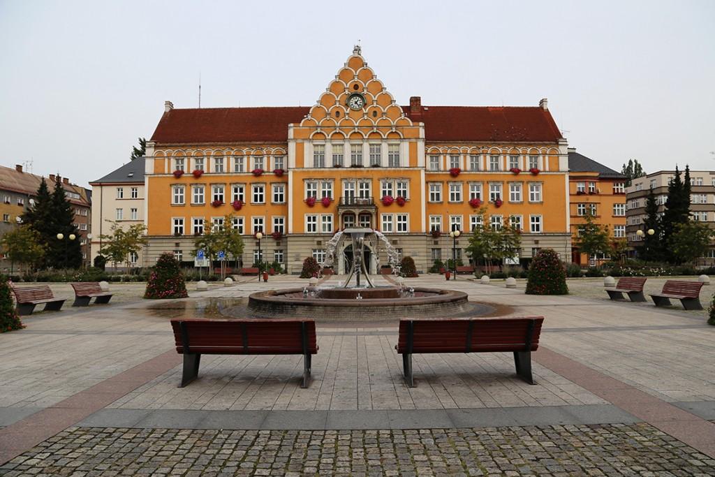 Urząd Miejski, Czeski Cieszyn.