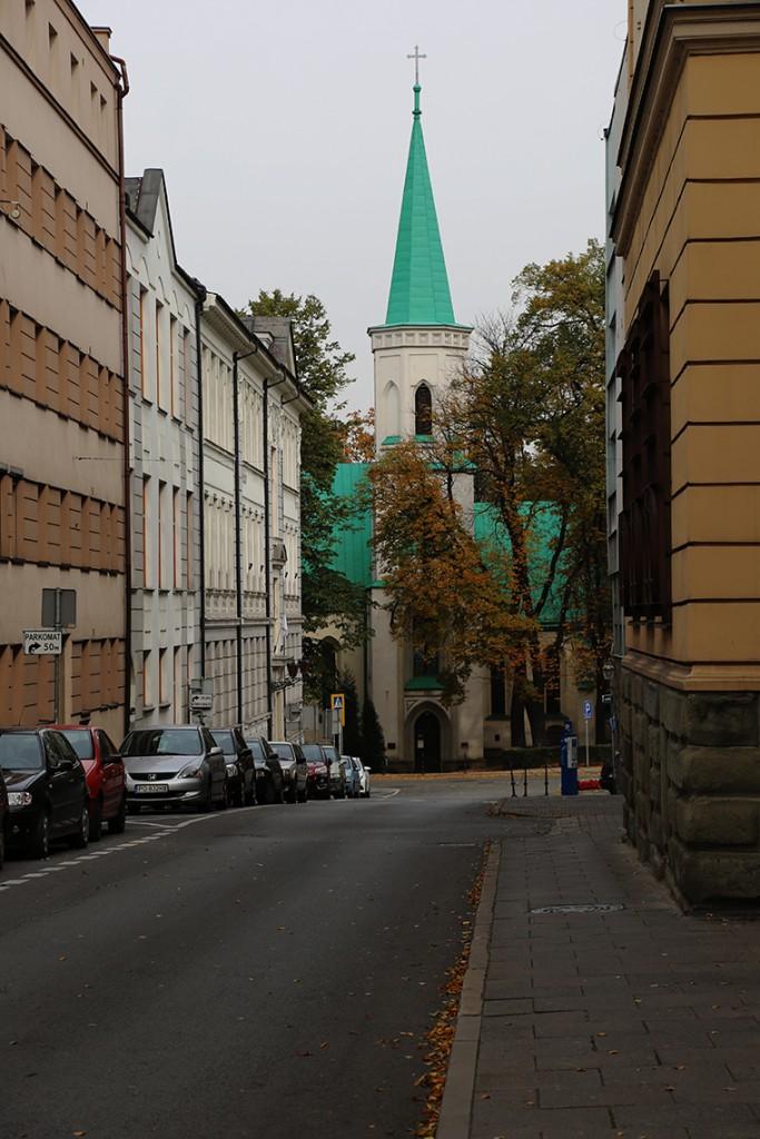 Gotycko-renesansowy kościół Świętej Trójcy.Gotycko-renesansowy kościół Świętej Trójcy.