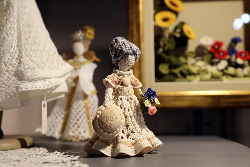 Galeria W Bramie przy ul. Przykopa i cudowne laleczki autorstwa pani Ireny Krzyżak, gdzie zrobiliśmy małe zakupy.