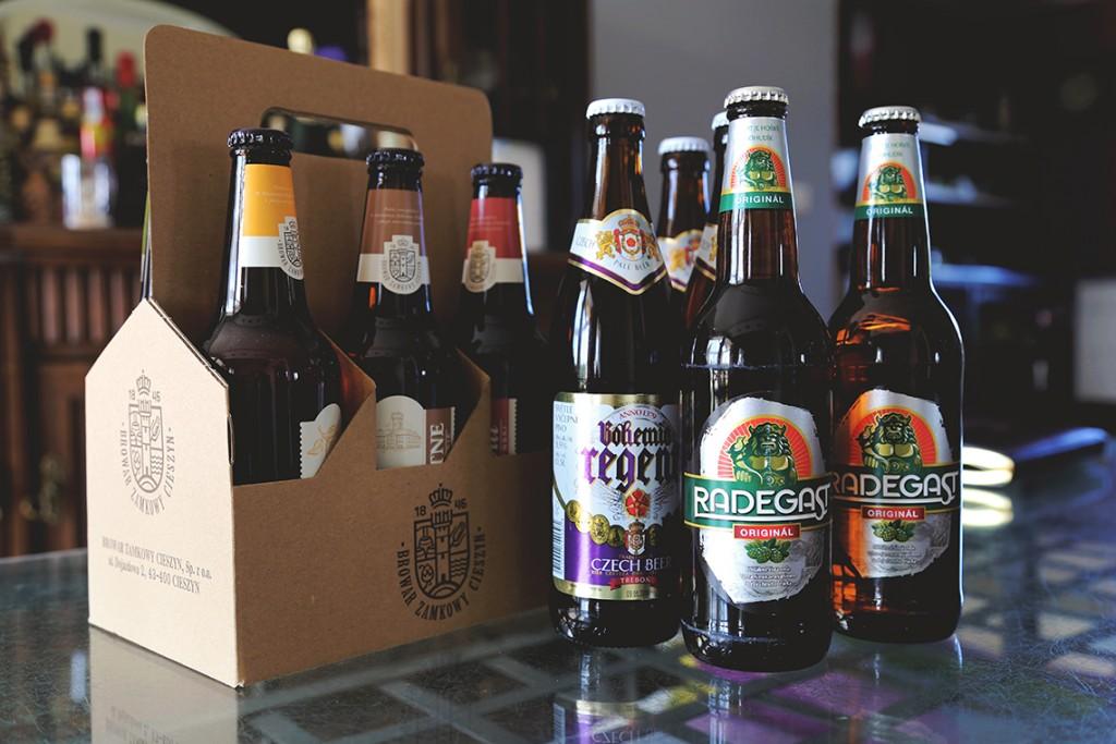 Nasze zdobycze, czyli piwa od Browaru Zamkowego i z czeskiego Tesco ;)