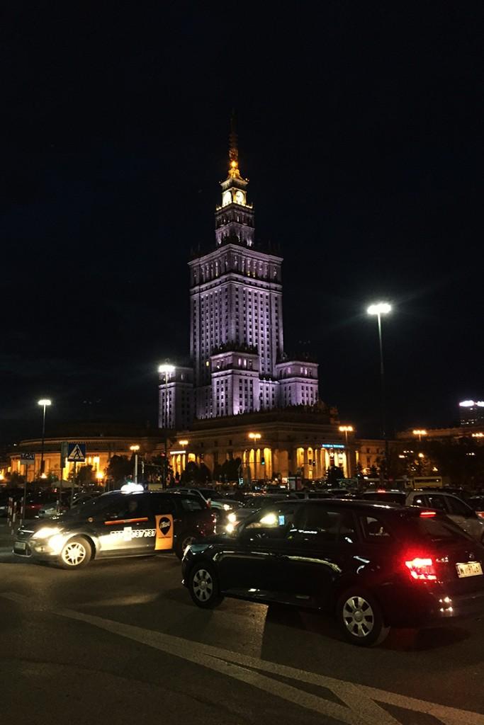 Warszawa i Pałac Kultury - dawno się nie widzieliśmy... ;)