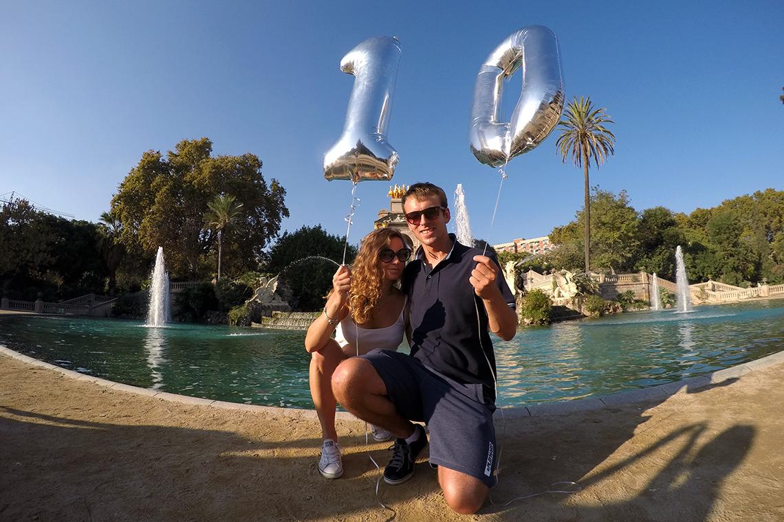 Nasze 10 lat w Barcelonie - Parc de la Ciutadella :)