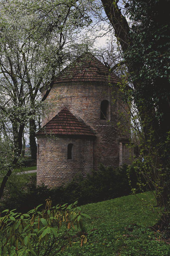 Słynna cieszyńska Rotunda.