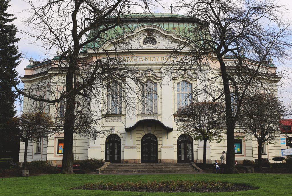 Teatr im. Adama Mickiewicza w Cieszynie.