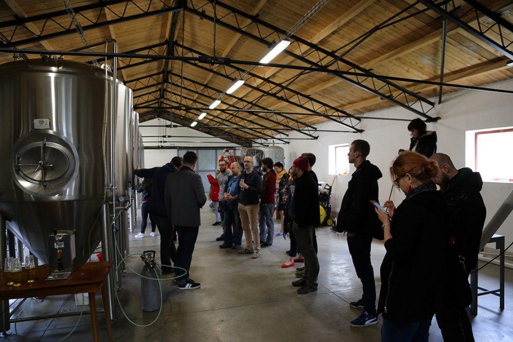 Zwiedzamy Albrechticky pivovar.