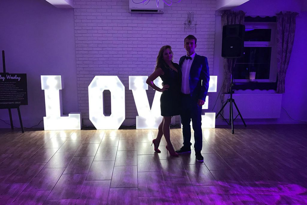 LOVE! Na weselu Kasi i Grzesia w Koleczkowie