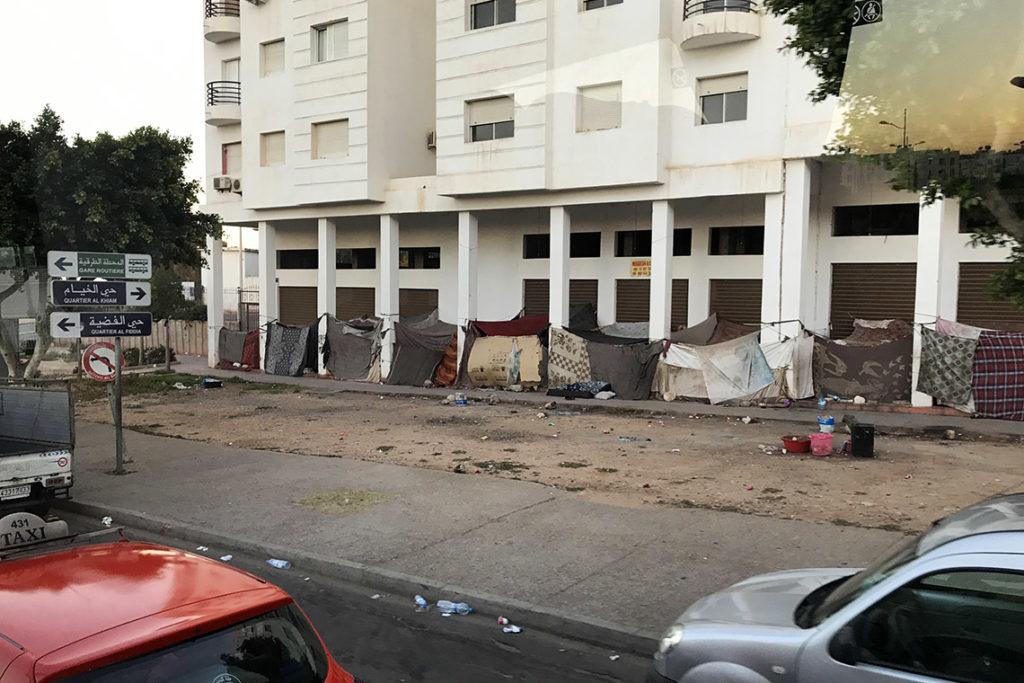 Marokańskie slumsy, Agadir 2019