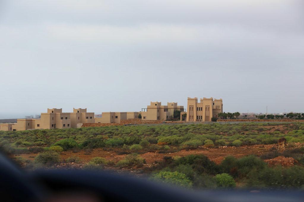 Opuszczony resort La Costa del Souss