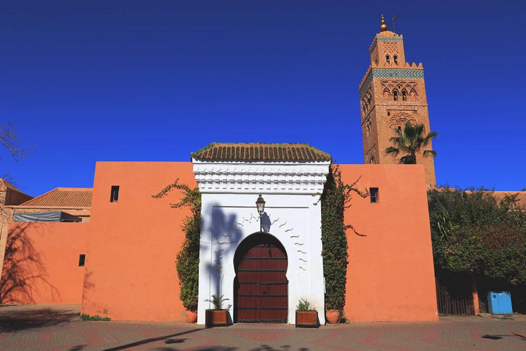 Meczet Koutoubia w Marrakeszu, dla niemuzułmanów zamknięty na cztery spusty