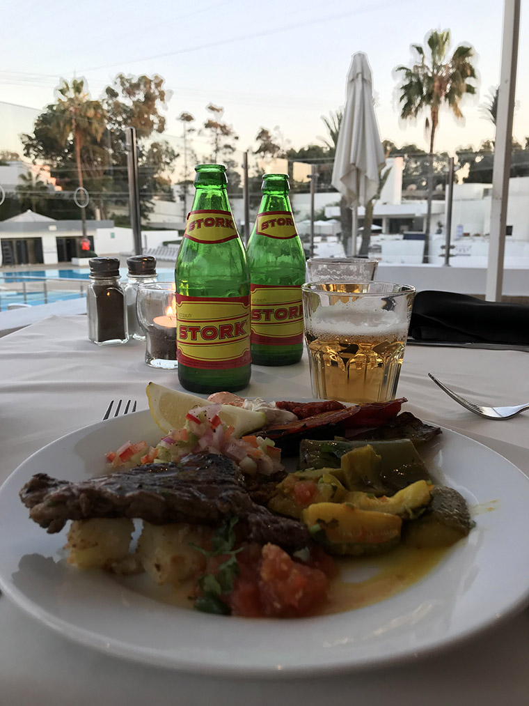 Kolacja w hotelu Allegro Agadir (Les Almohades Beach Resort)