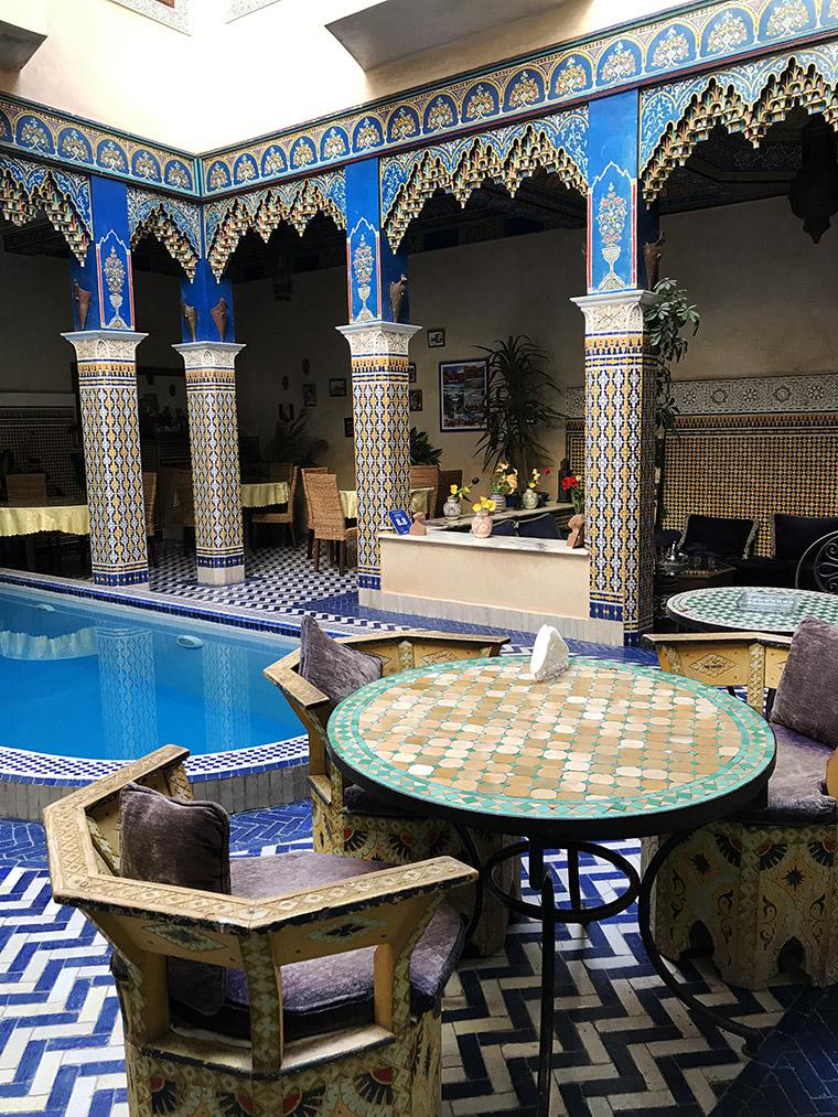 Riad w Marrakeszu