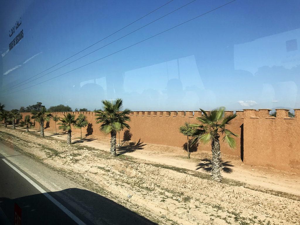 W drodze z lotniska do Agadiru