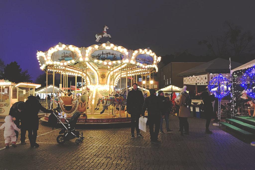 Karuzela - Jarmark Bożonarodzeniowy w Gdańsku