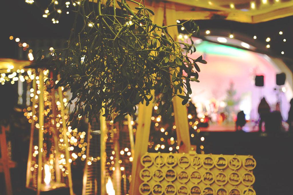 Jemioła na Jarmarku Świątecznym w Gdyni