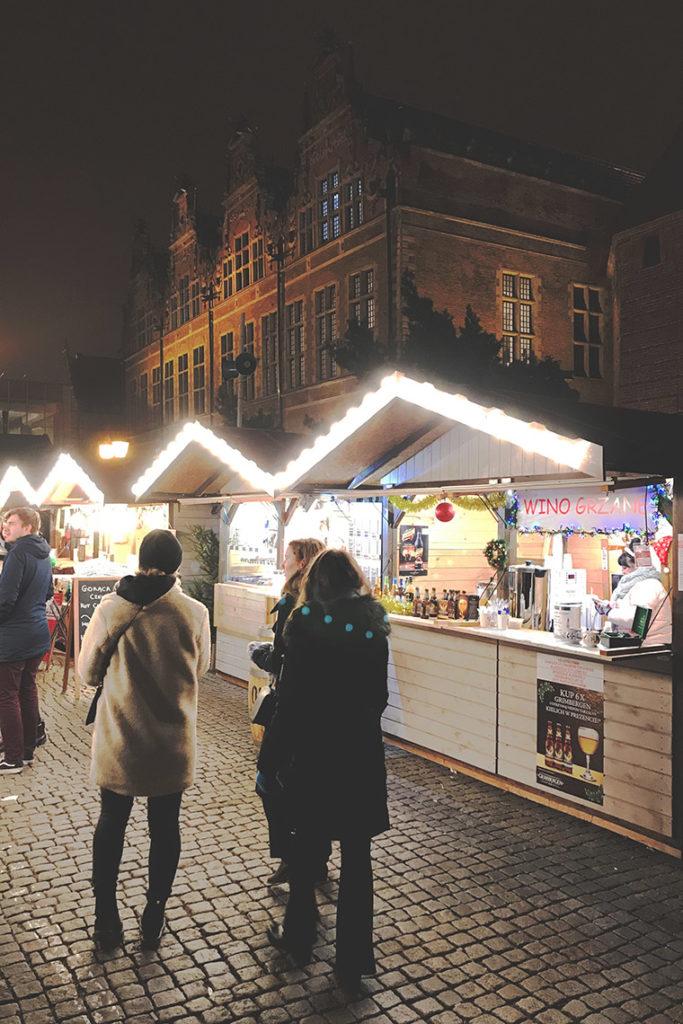 Świąteczne miasteczko w Gdańsku