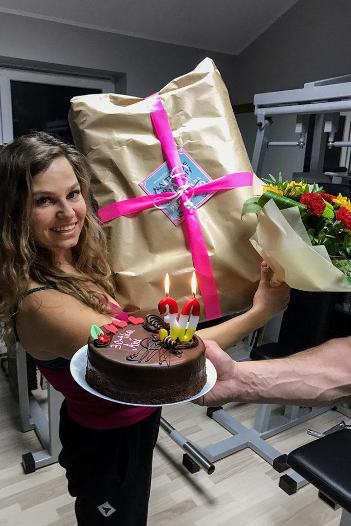 Świętujemy moje 30 urodziny z rodziną :)