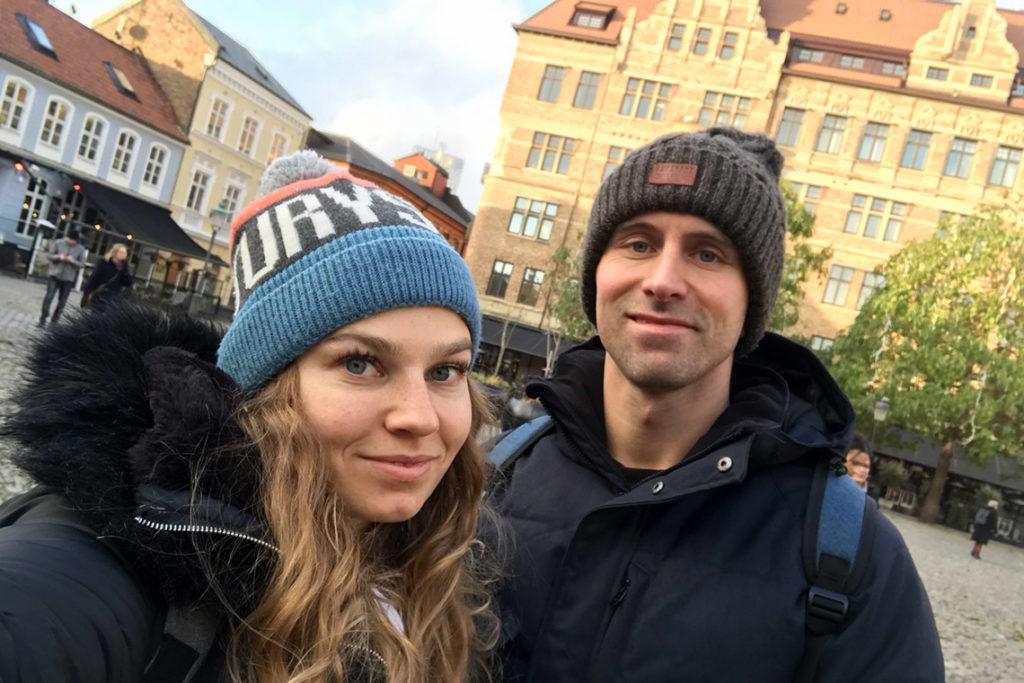 Spacer po szwedzkim Malmö :)