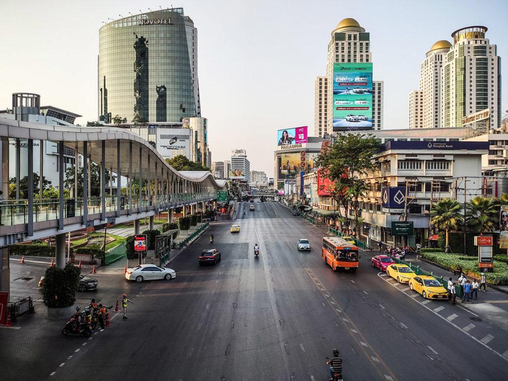 Bangkok - Ram Buttri Road, kwiecień 2020. Fot. W Środku Nigdzie - Michal Burchart
