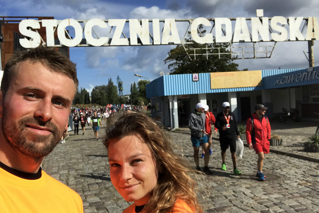 Po Biegu Westerplatte - Stocznia Gdańska