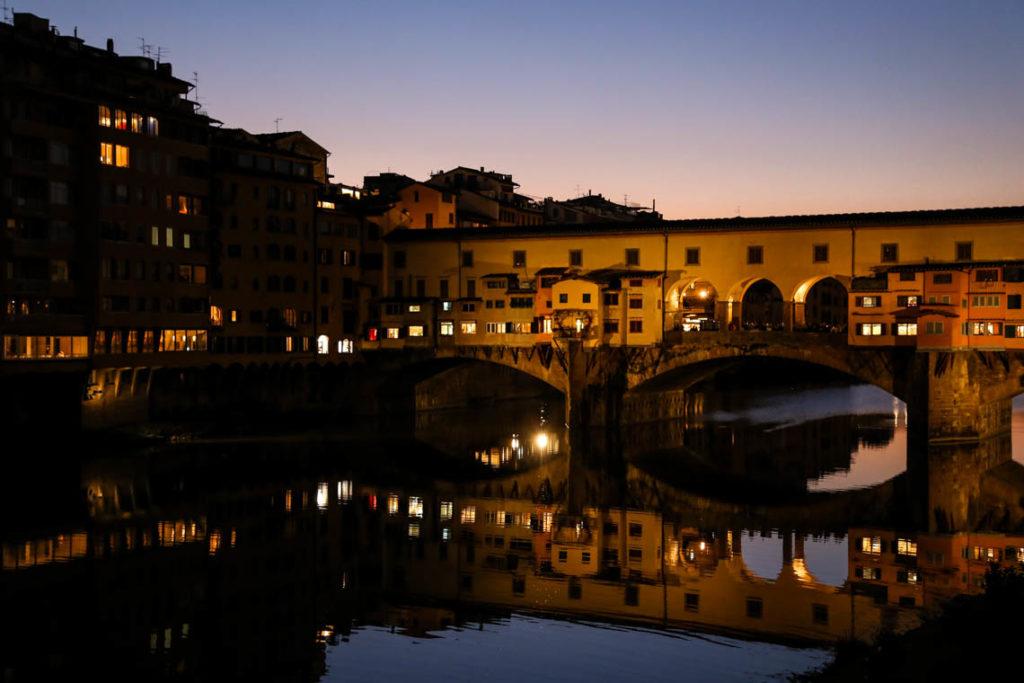 Florencja - Ponte Vecchio, 29 października 2014