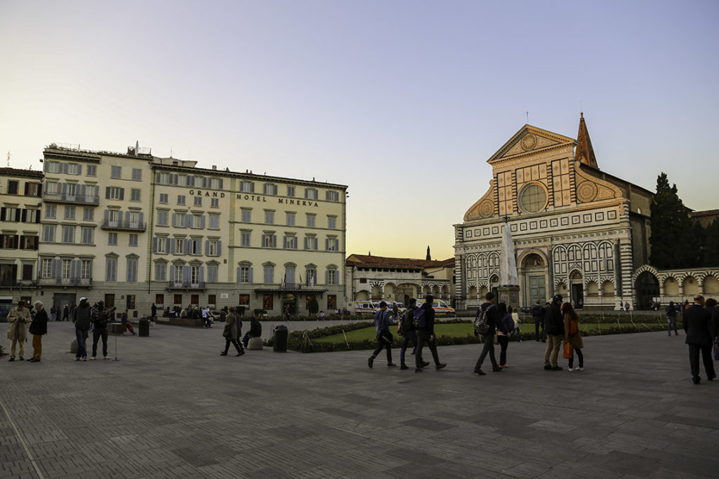Florencja - Piazza di Santa Maria Novella, 29 października 2014