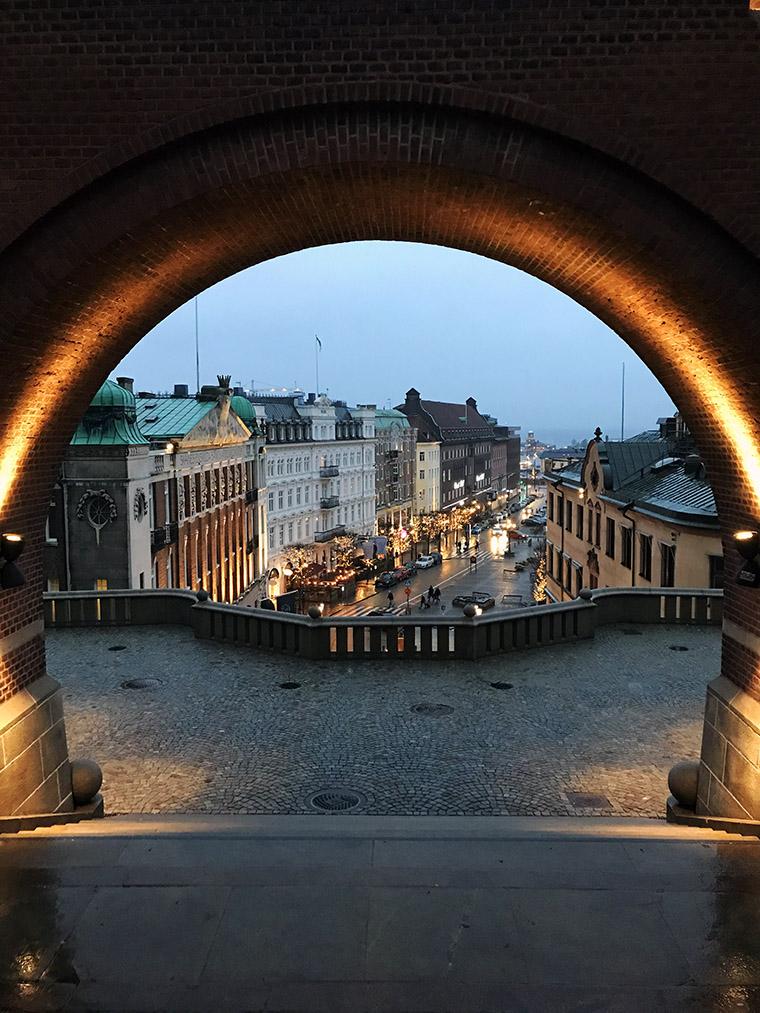 Wieczór w Helsingborgu, Szwecja