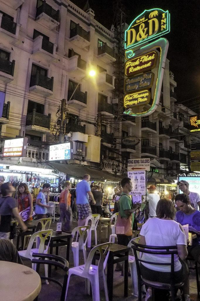 Bangkok - Khao San Road, 26 kwietnia 2012