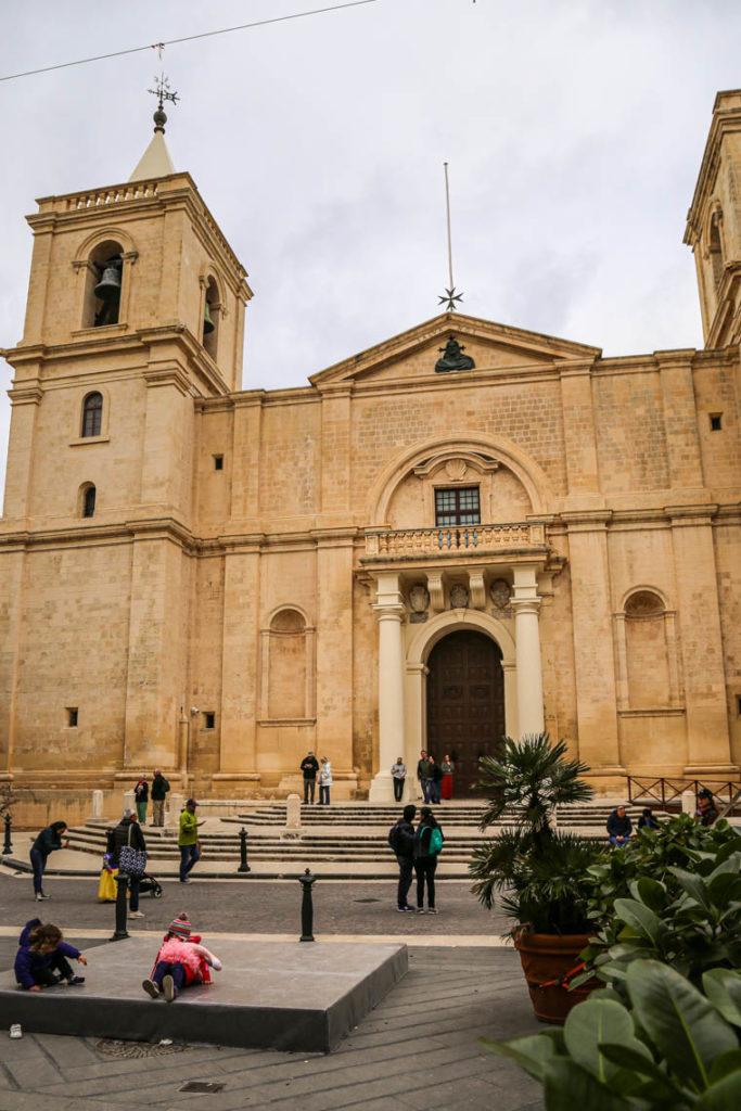 Valletta - Konkatedra świętego Jana, 1 marca 2019