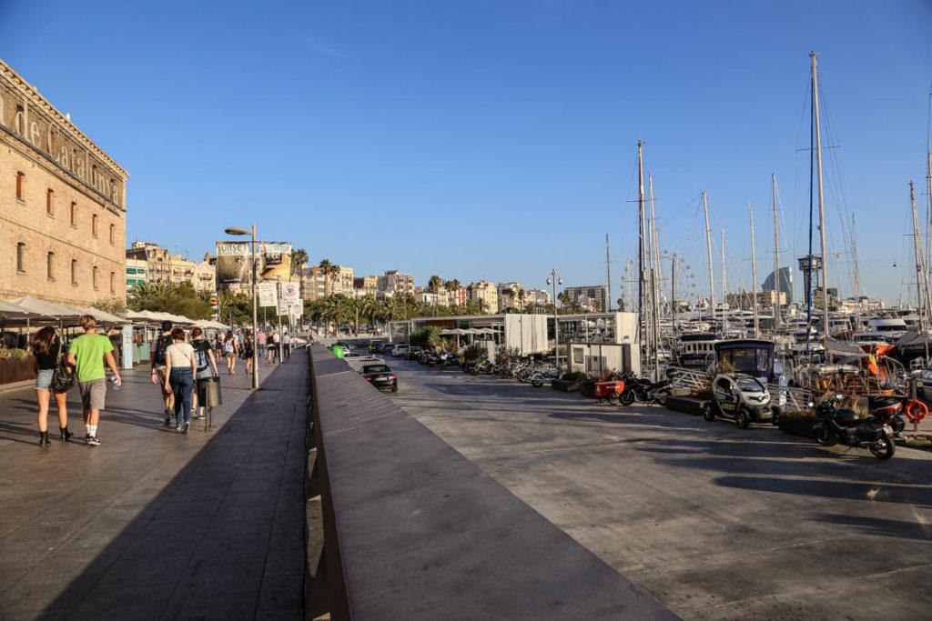 Barcelona - Moll del Dipòsit, 21 września 2016