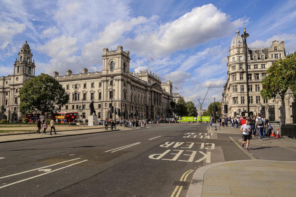 Londyn - Parliament Square, 9 września 2018