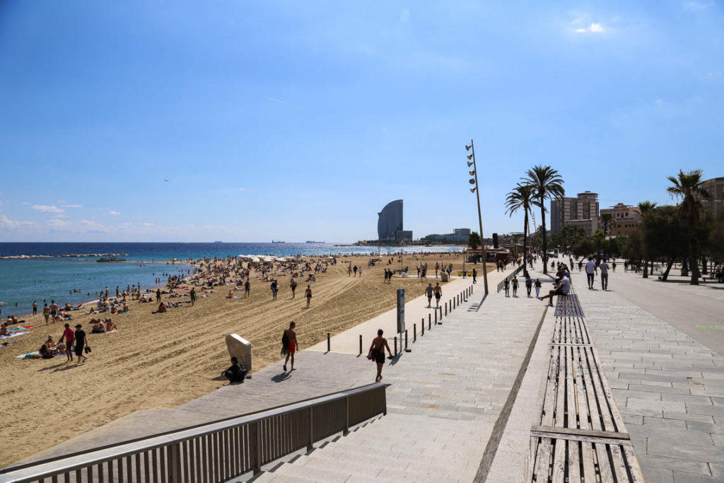 Barcelona - Playa de La Barceloneta, 21 września 2016