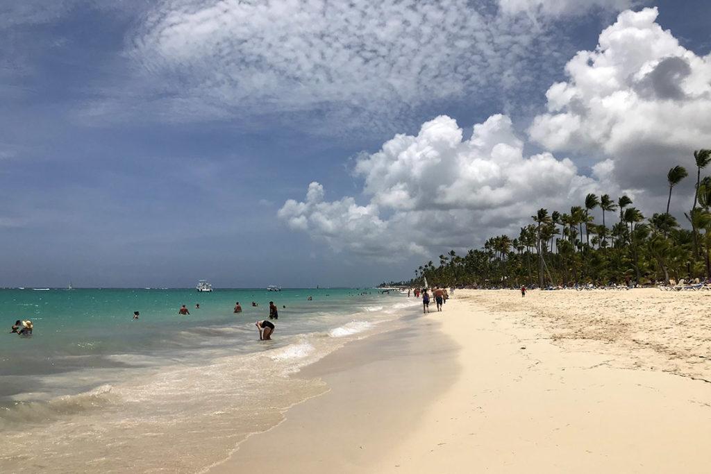 Nasza ulubiona plaża. Punta Cana, Dominikana